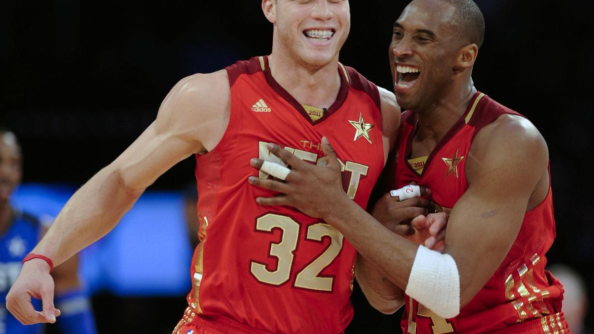 Blake Griffin et Kobe Bryant, Conférence Ouest