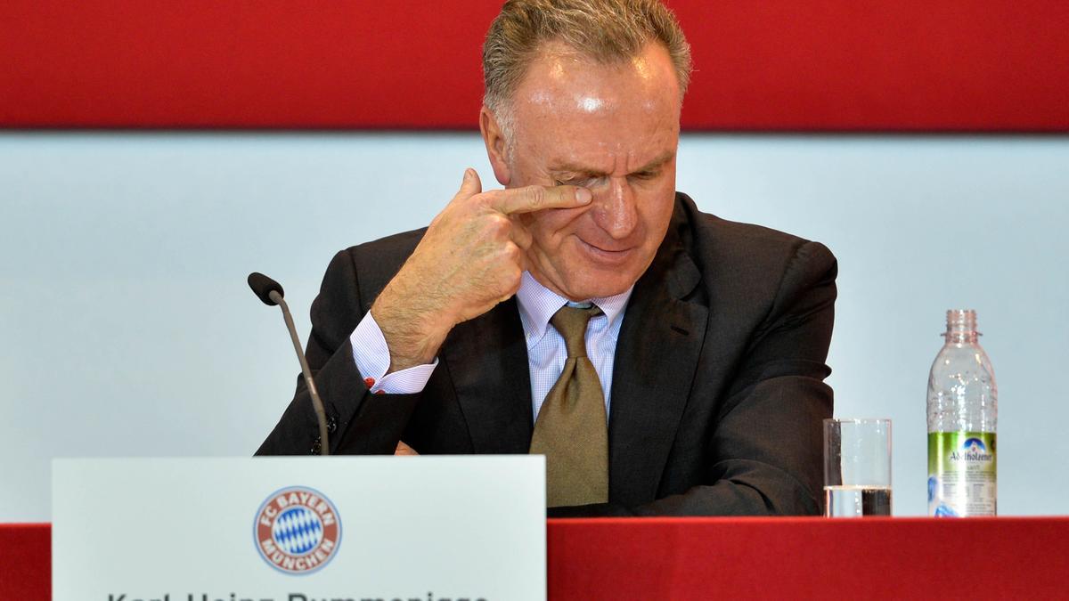 Karl Heinz Rummenigge, Bayern Munich