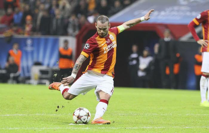 Wesley Sneijder, Galatasaray