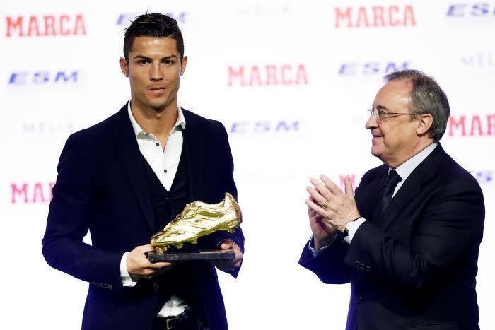 Cristiano Ronaldo, Florentino Pérez, Real Madrid