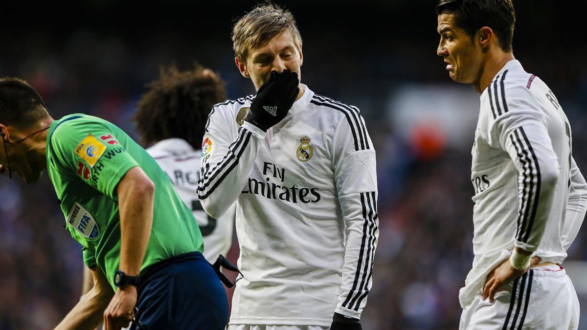 Toni Kroos et Cristiano Ronaldo, Real Madrid