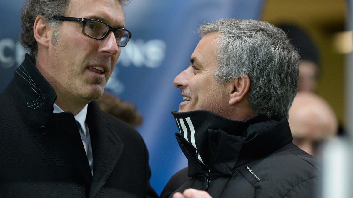 Laurent Blanc & José Mourinho