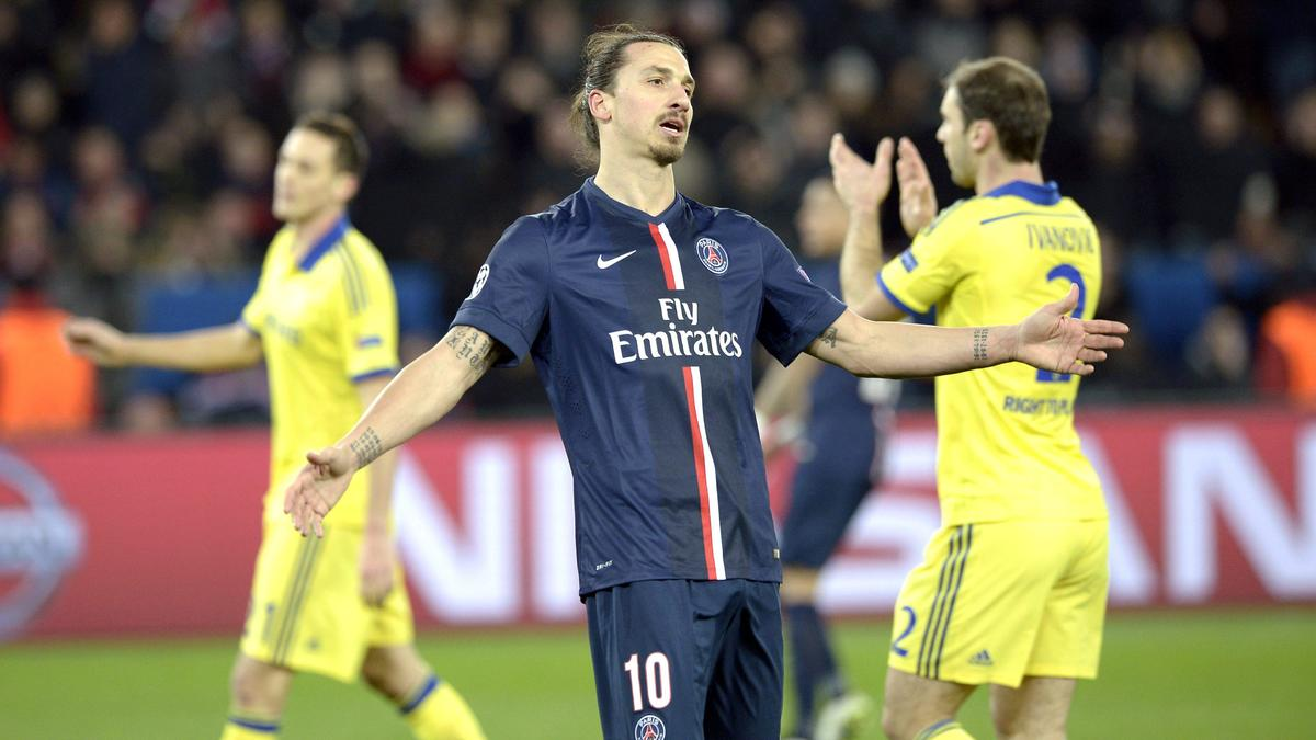 PSG : Ibrahimovic sort du silence et ironise sur sa suspension