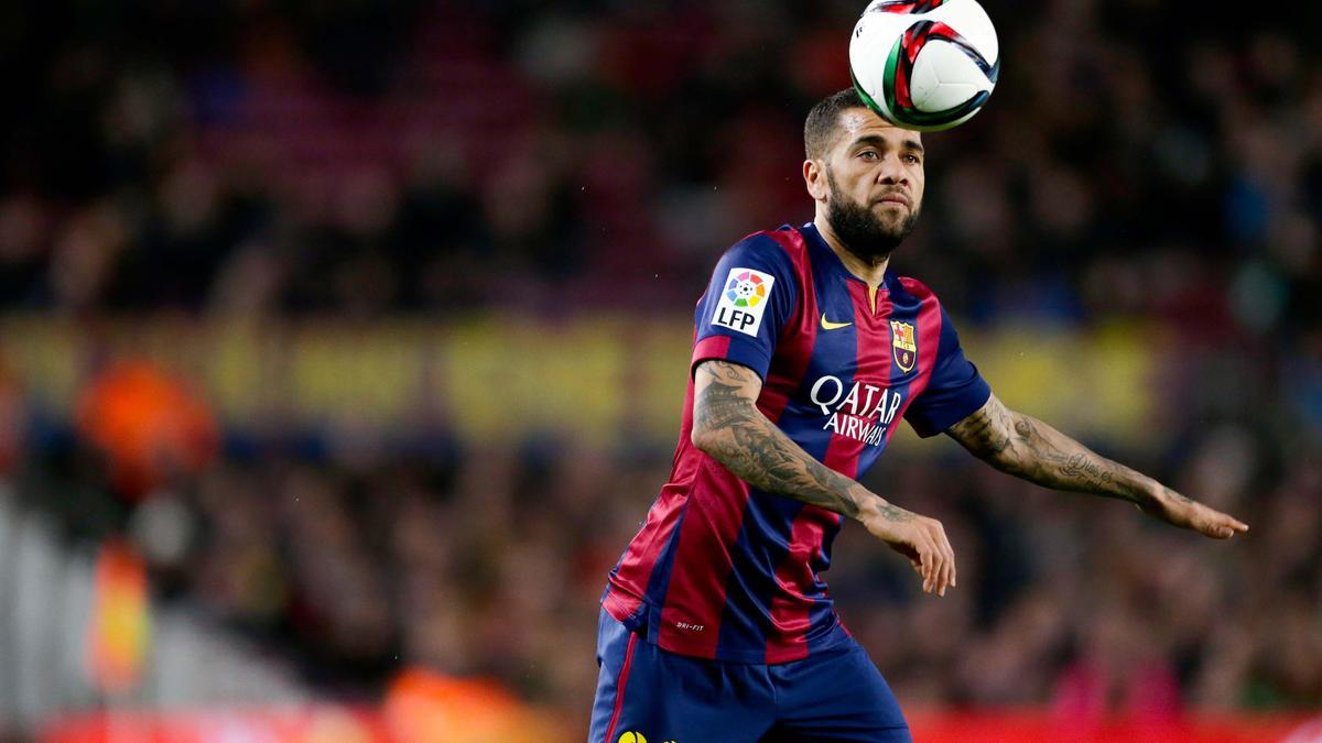 Un divorce inéluctable entre le Barça et Daniel Alves
