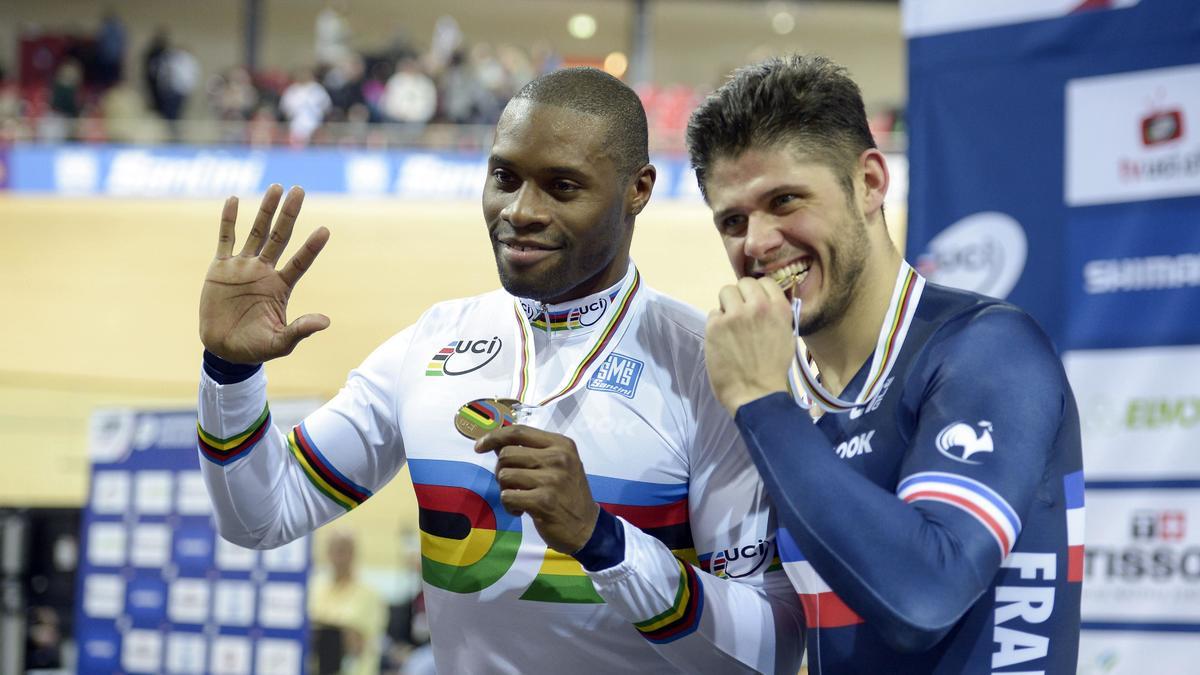 Grégory Baugé et Quentin Lafargue
