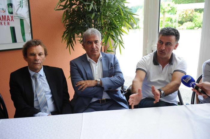 Christophe Galtier, Roland Romeyer, ASSE