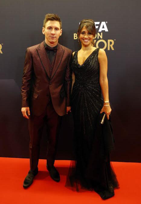Antonella Roccuzzo et Lionel Messi
