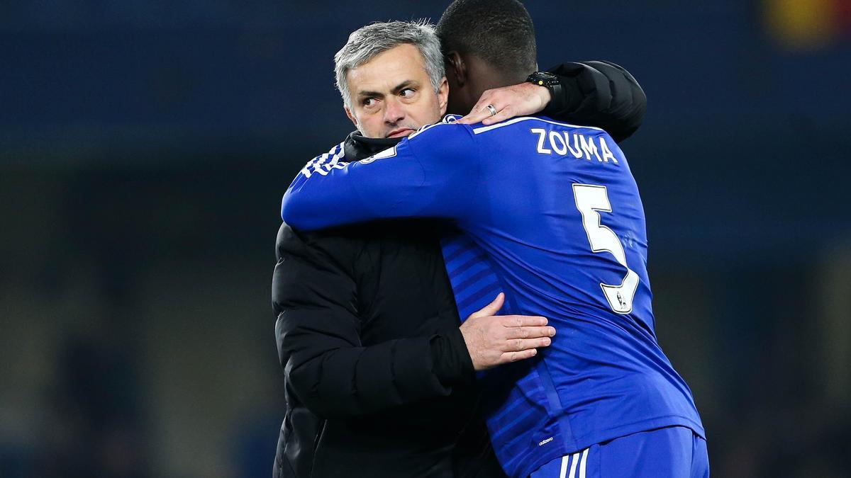 Kurt Zouma & José Mourinho, Chelsea