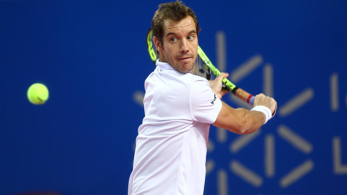 Tennis - Coupe Davis : L'inqui�tude de Gasquet apr�s son abandon contre Federer !