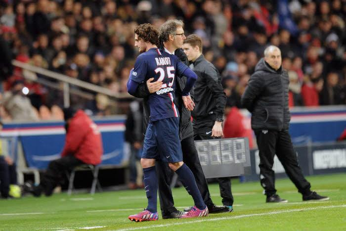 Adrien Rabiot, Laurent Blanc, PSG