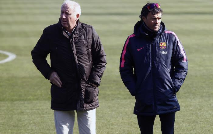 Carles Rexach et Luis Enrique, Barcelone