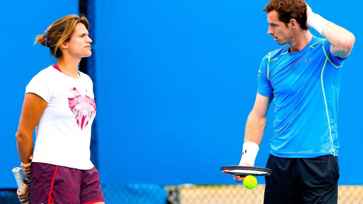 Tennis : Andy Murray encense Am�lie Mauresmo et justifie son choix !