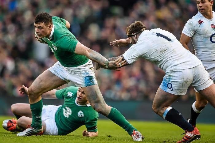 Rugby - 6 Nations : L'Irlande assomme l'Angleterre et pose une option sur la victoire finale !