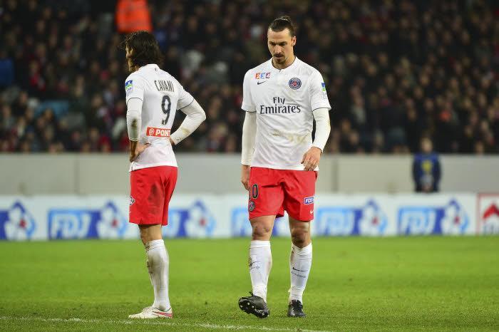 Edinson Cavani, Zlatan Ibrahimovic, PSG