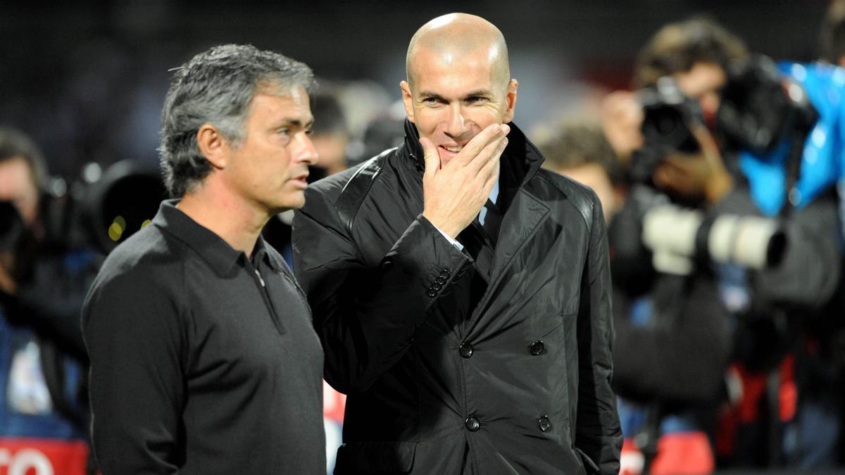 José Mourinho & Zinedine Zidane