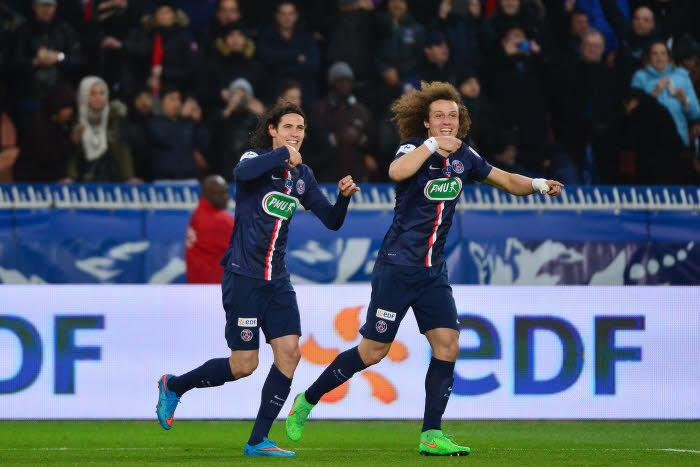 Edinson Cavani - David Luiz, PSG