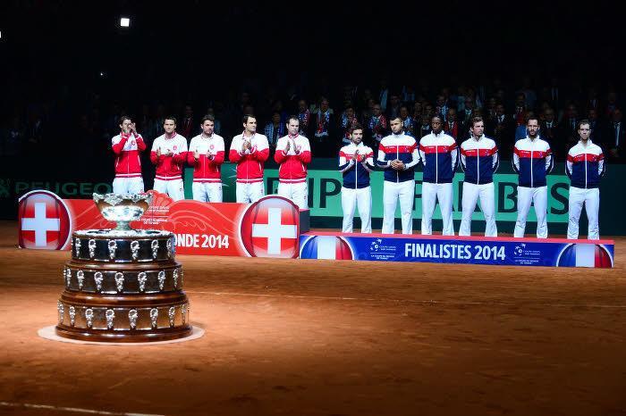 France, Suisse, Coupe Davis