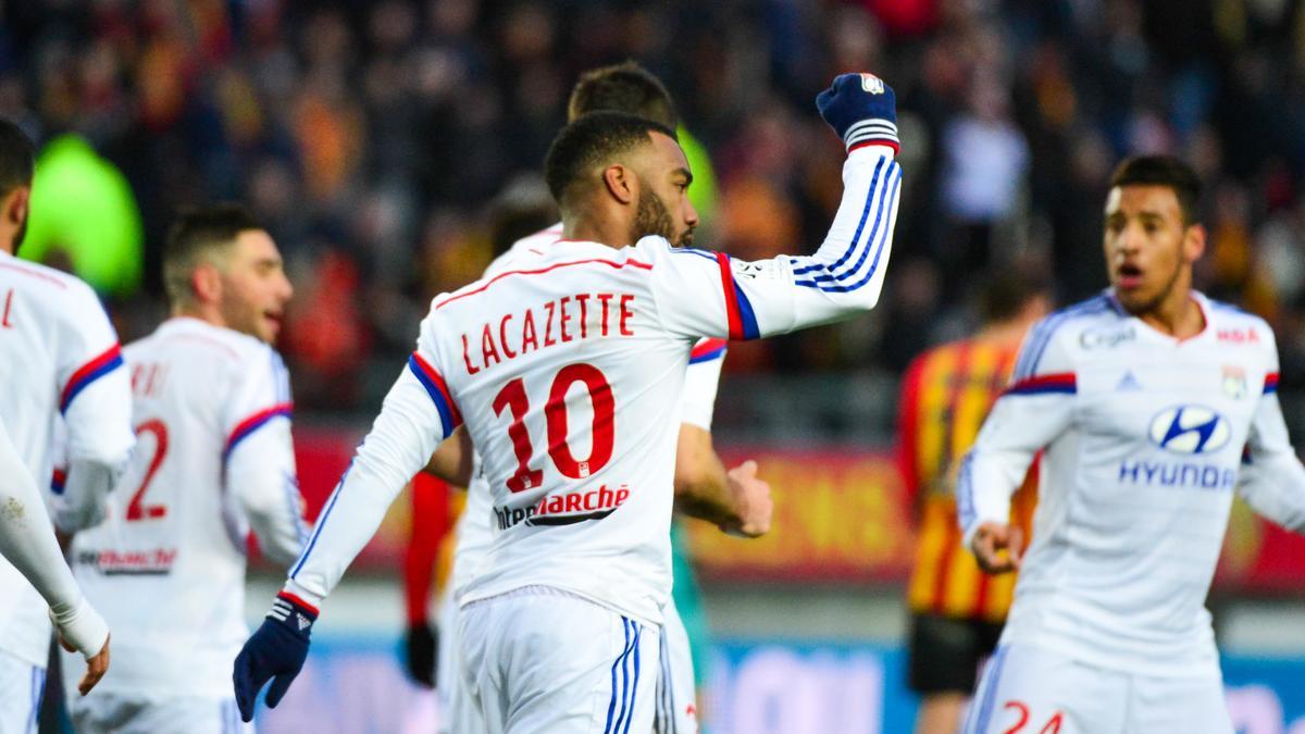 Alexandre Lacazette, OL