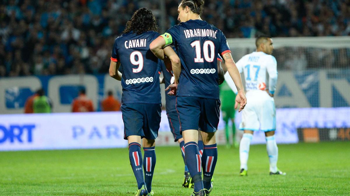Edinson Cavani & Zlatan Ibrahimovic, PSG