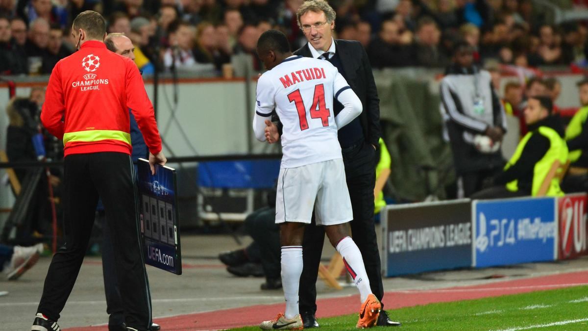 Laurent Blanc et Blaise Matuidi, PSG