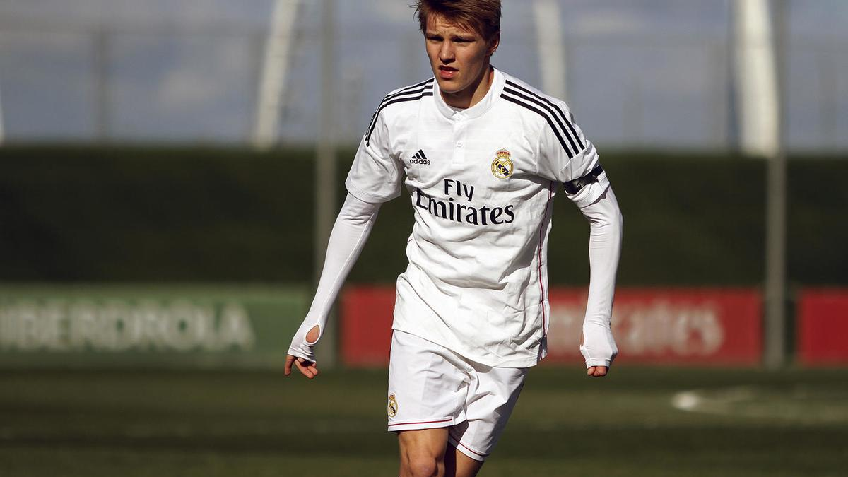 Martin Odegaard, Real Madrid