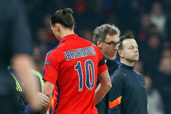Zlatan Ibrahimovic, Laurent Blanc, PSG