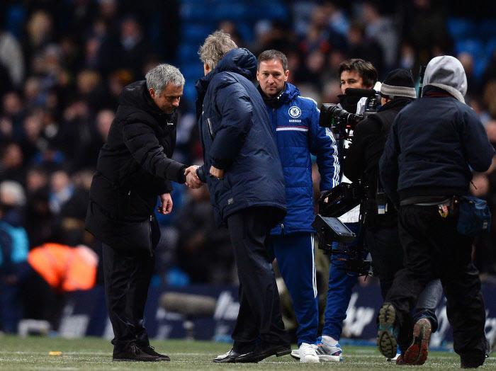 Quand José Mourinho titille une nouvelle fois Manuel Pellegrini