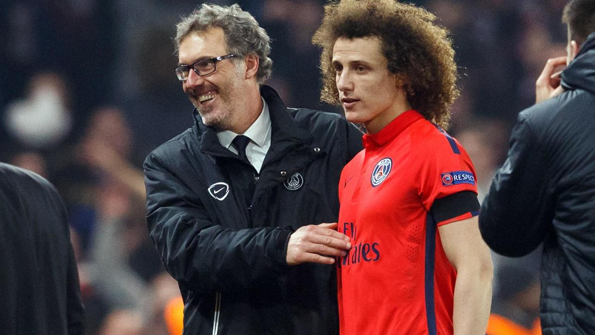 Laurent Blanc - David Luiz, PSG