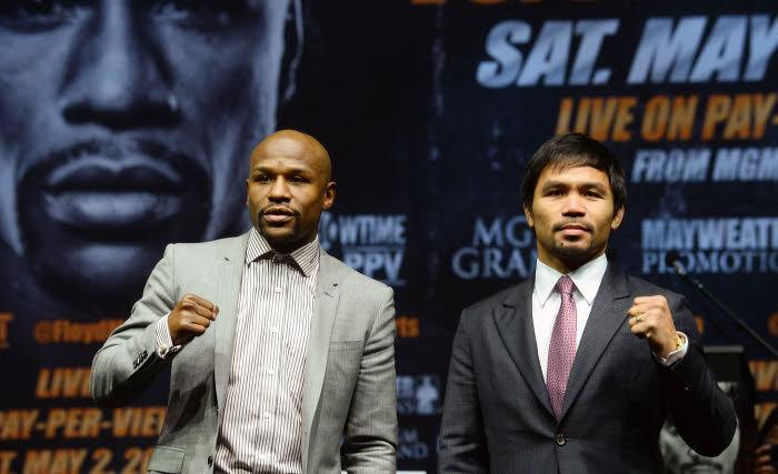 Floyd Mayweather, Manny Pacquiao, Boxe
