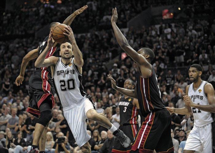 Manu Ginobili, Spurs