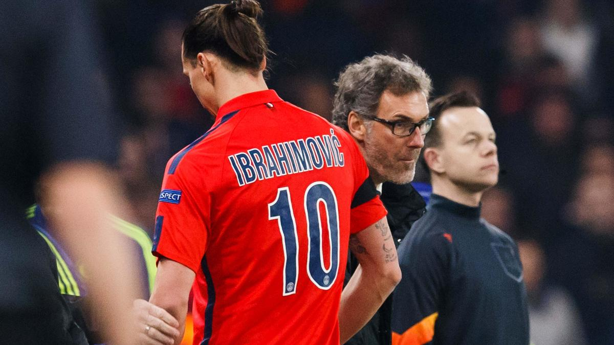Zlatan Ibrahimovic & Laurent Blanc, PSG