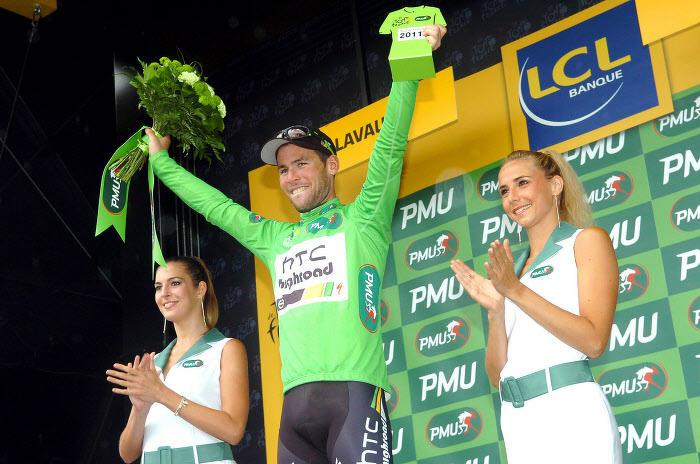 Mark Cavendish, en 2011