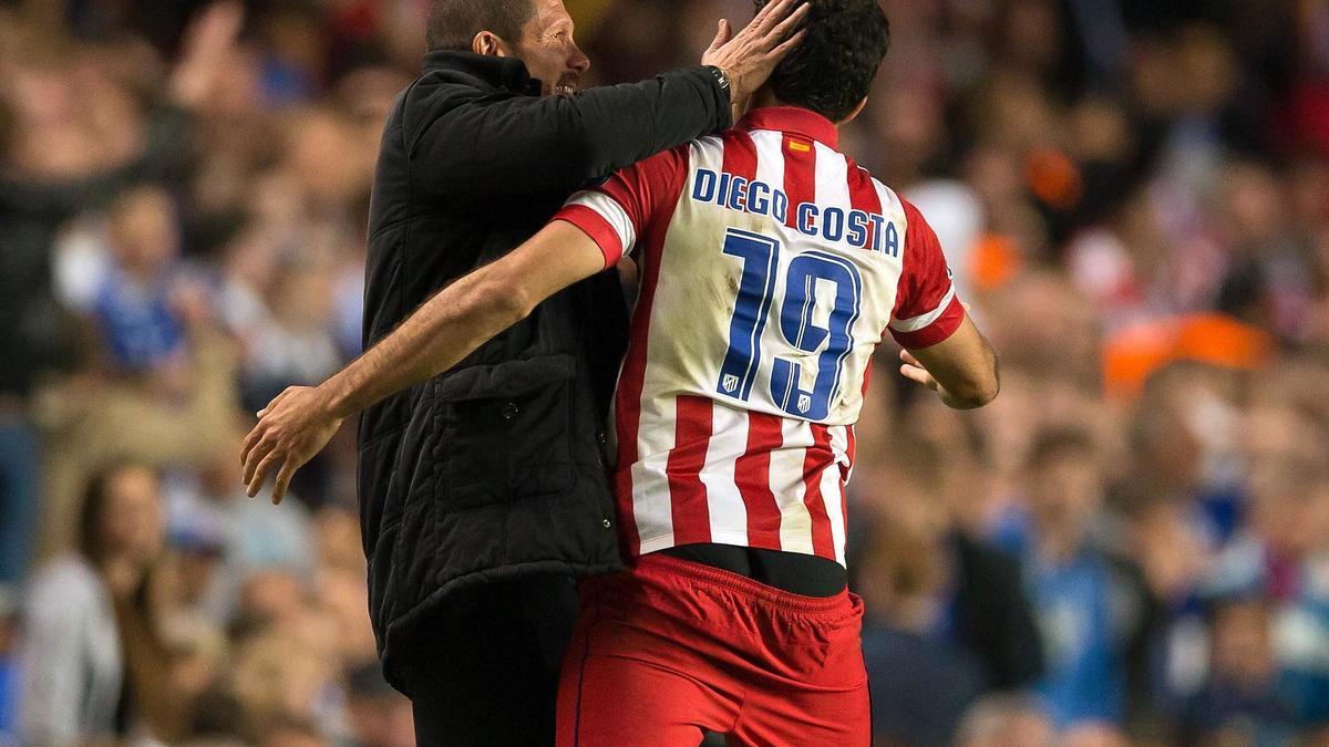 Mercato - Atlético Madrid/Chelsea : Diego Costa juge la prolongation de contrat de Diego Simeone !