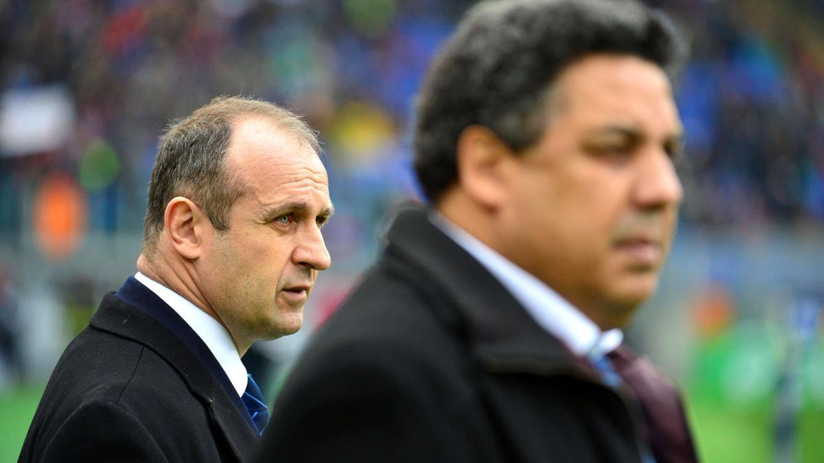 Serge Blanco et Philippe Saint-André, XV de France