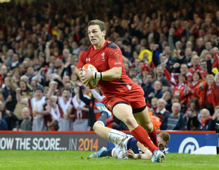 George North, Pays de Galles