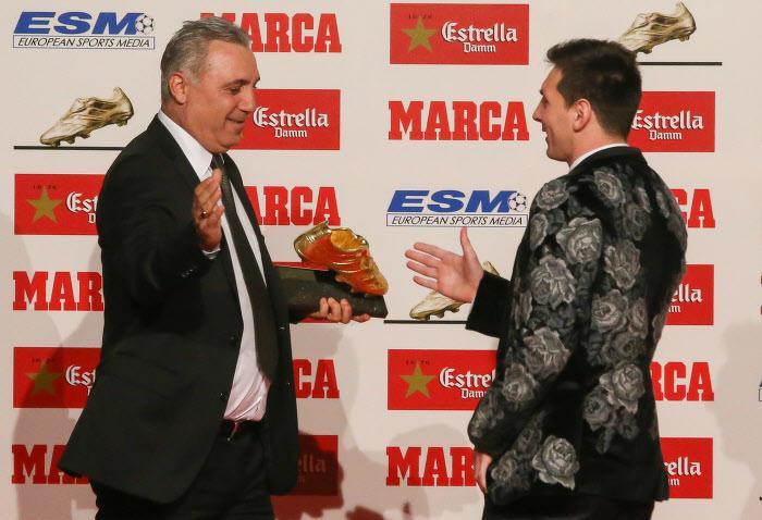 Hristo Stoichkov, Lione Messi