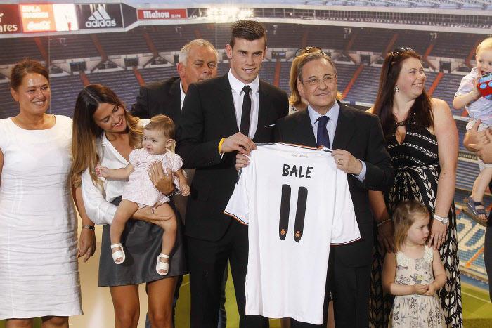 Gareth Bale, Florentino Pérez, Real Madrid