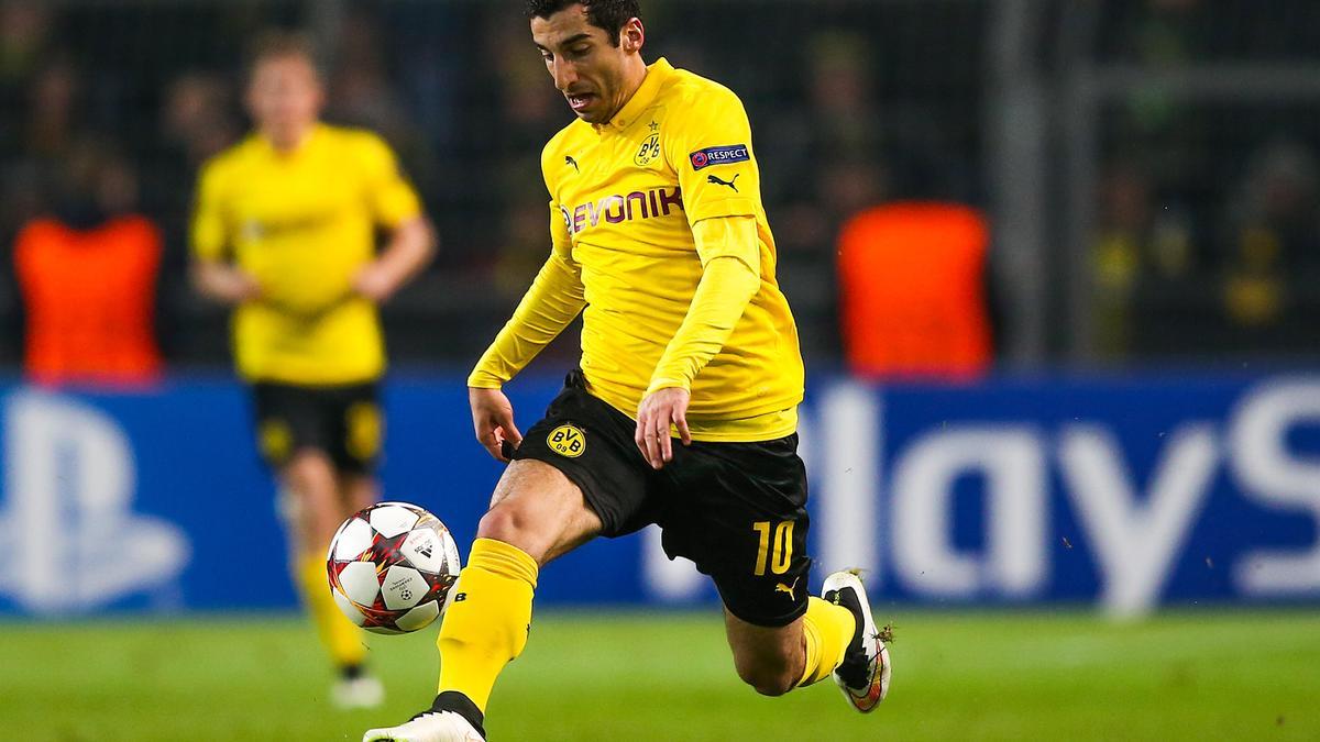 Henrikh Mkhitaryan, Borussia Dortmund