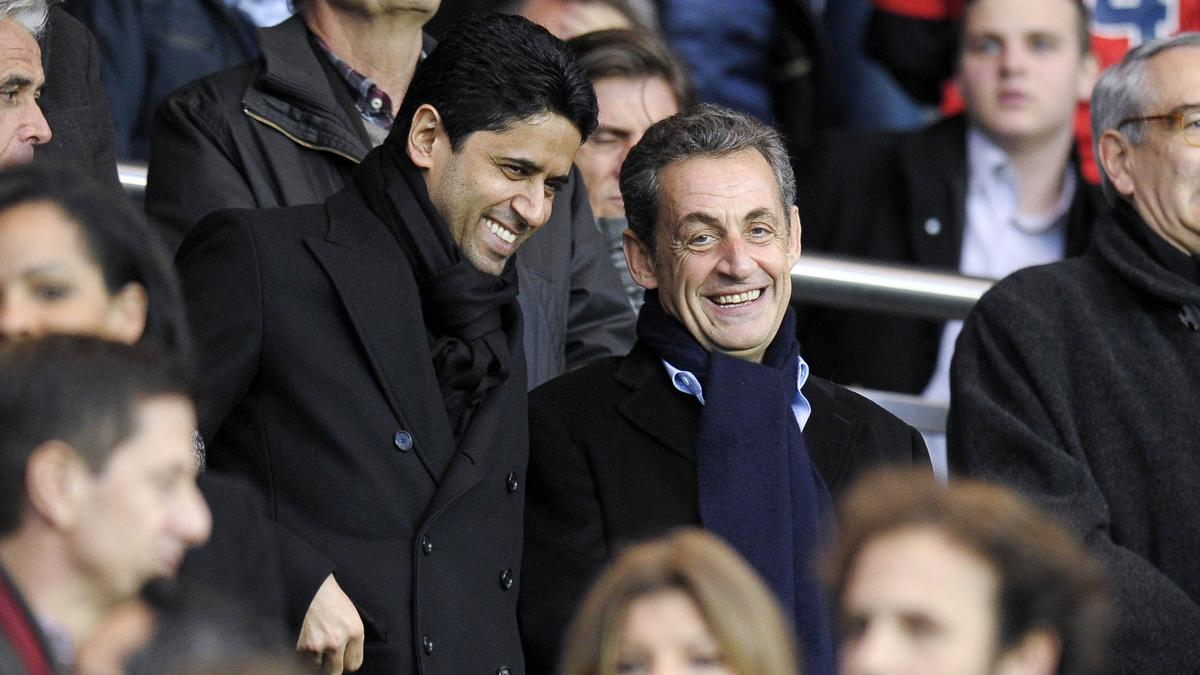 Nasser Al-Khelaïfi - Nicolas Sarkozy, PSG