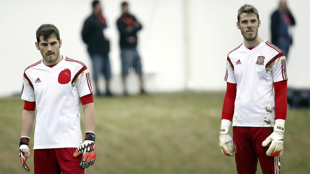Iker Casillas et David De Gea