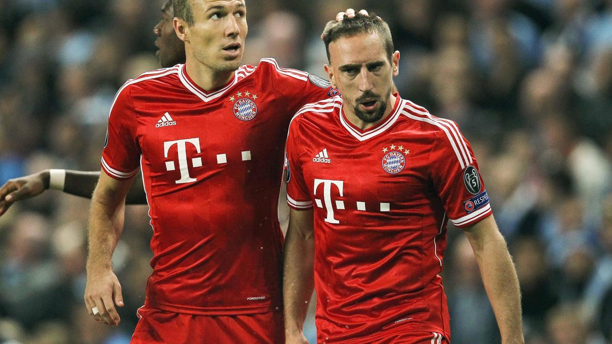Arjen Robben & Franck Ribéry, Bayern Munich