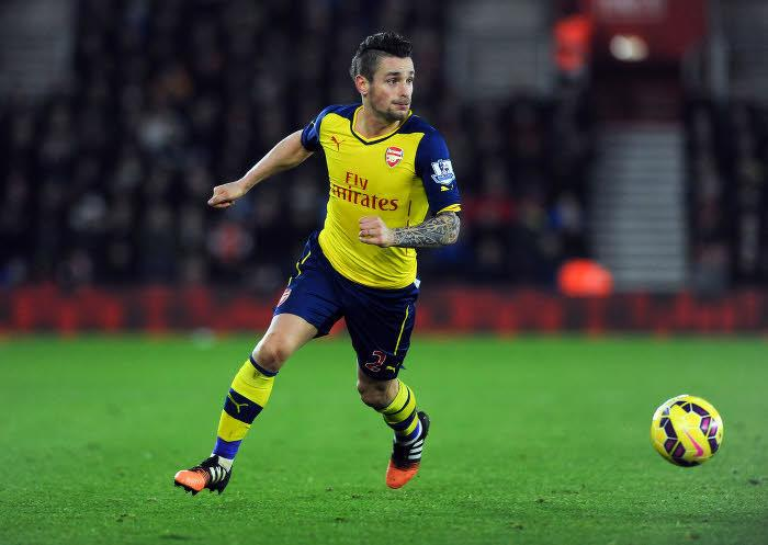 Mathieu Debuchy, Arsenal