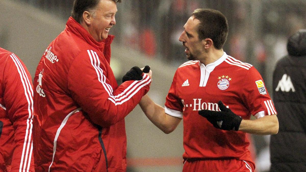 Louis Van Gaal & Franck Ribéry