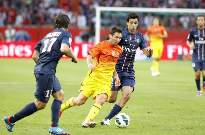 Quand Pastore se livre sur Lionel Messi et son pied enflé