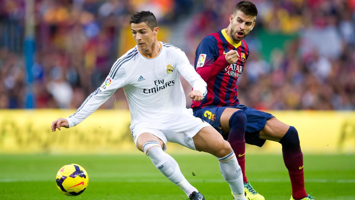 Cristiano Ronaldo - Gerard Piqué
