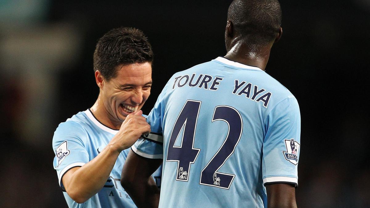 Samir Nasri & Yaya Touré, Manchester City