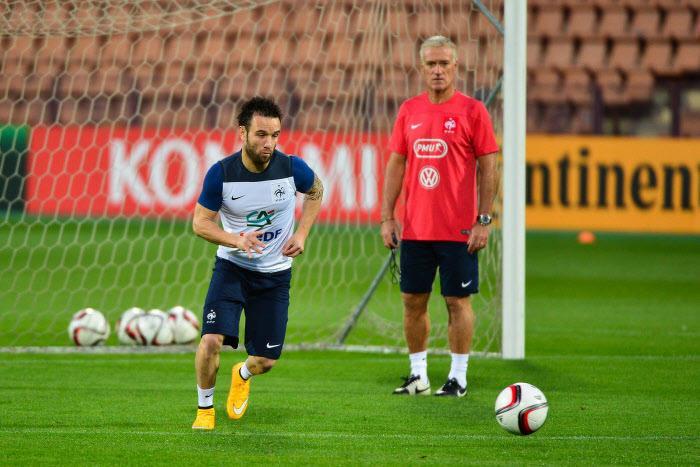 Mathieu Valbuena, Didier Deschamps