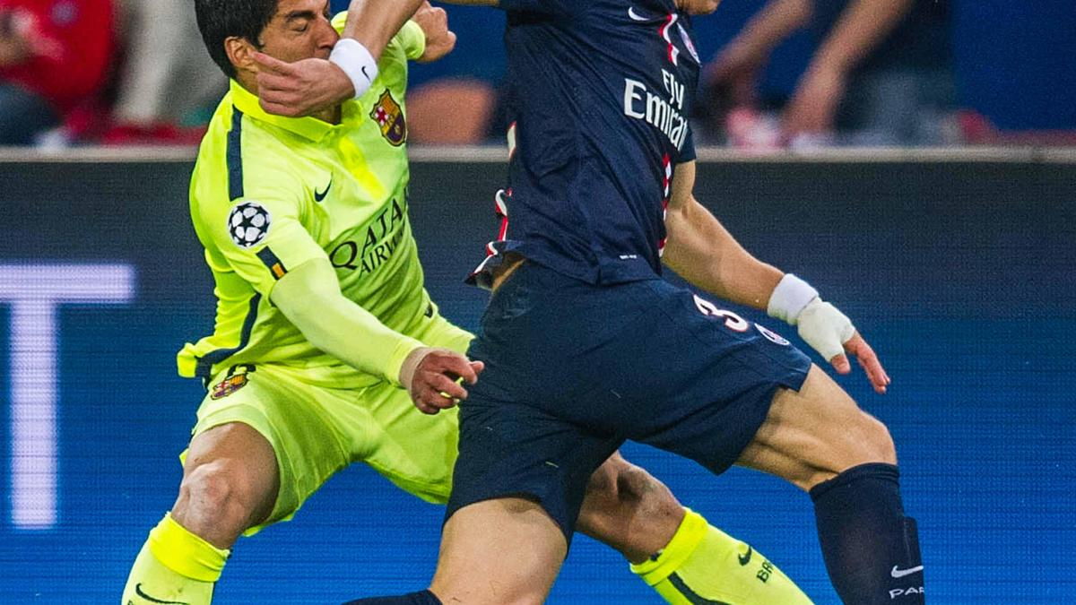 David Luiz revient sur les petits ponts infligés par Luis Suarez