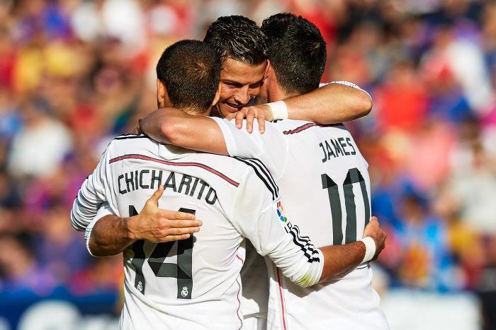 Javier Hernandez, Cristiano Ronaldo, Real Madrid