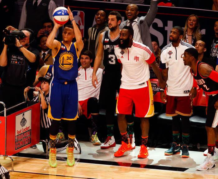 Stephen Curry, James Harden, NBA